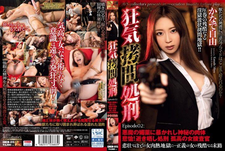 【巨乳女捜査官 レイプエロ動画】狂気拷問処刑 孤高の女捜査官 かなで自由